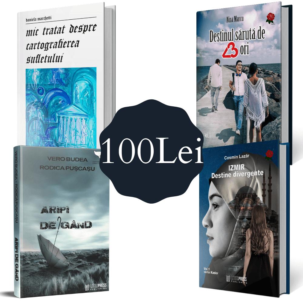 Pachet 4 cărți